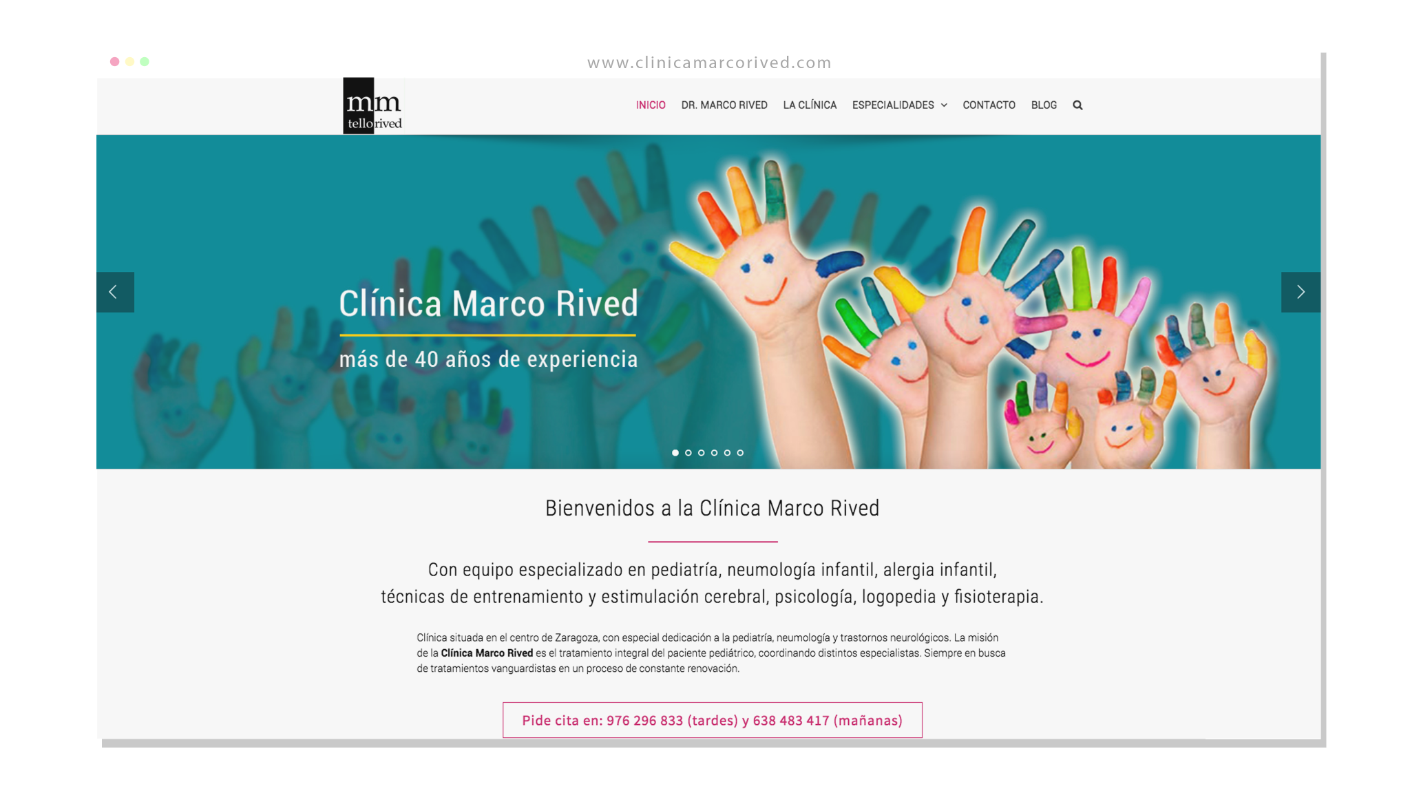 Clínica Marco Rived - Lus3